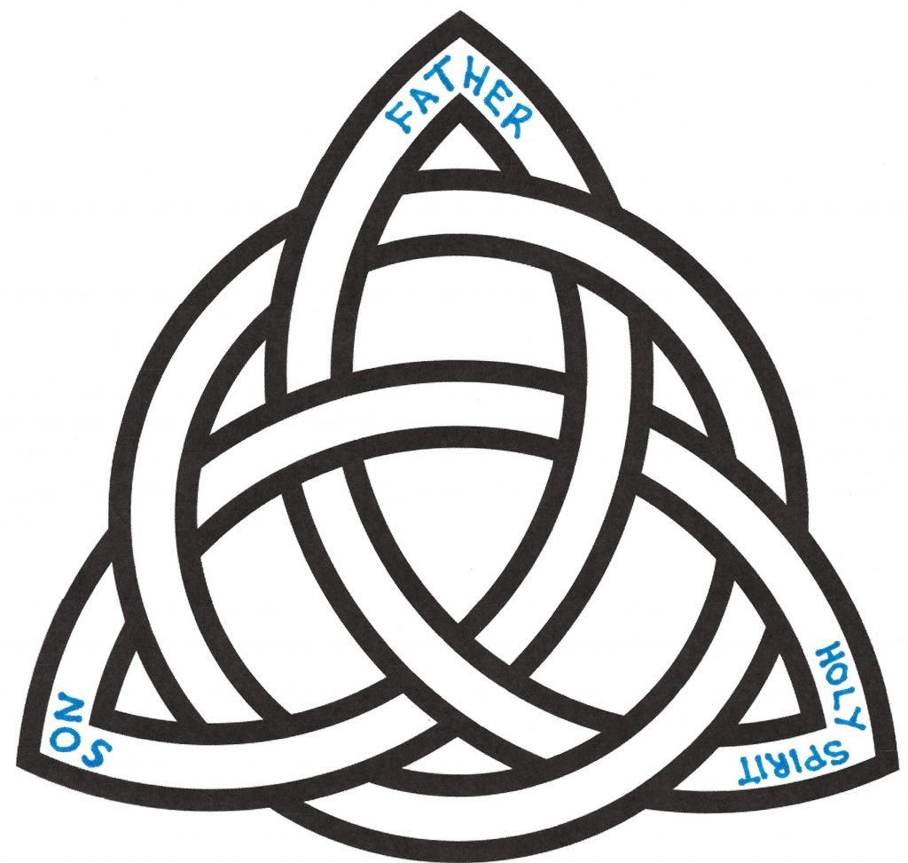 Trinity Knot with Circle