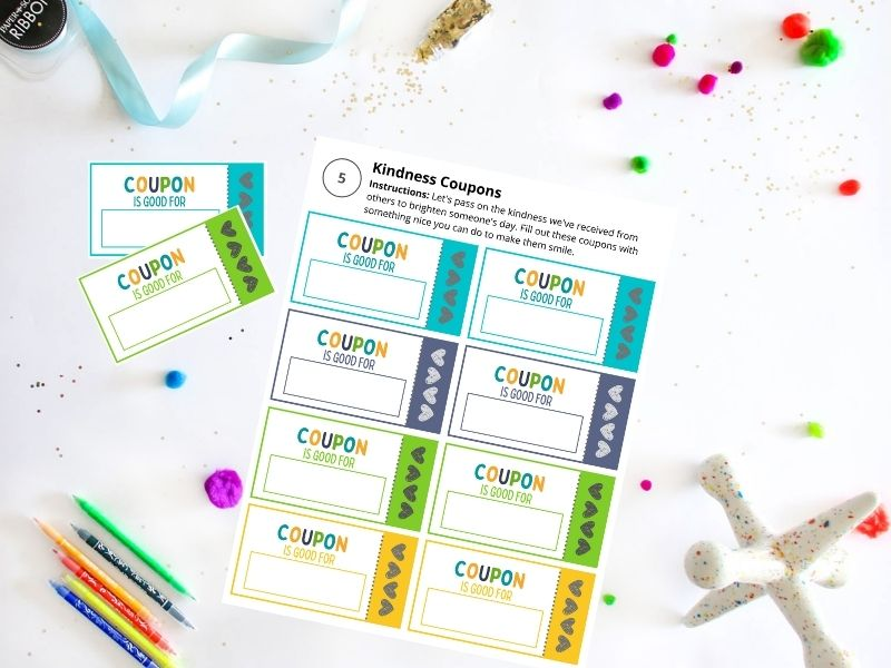 Kindness Coupon activity