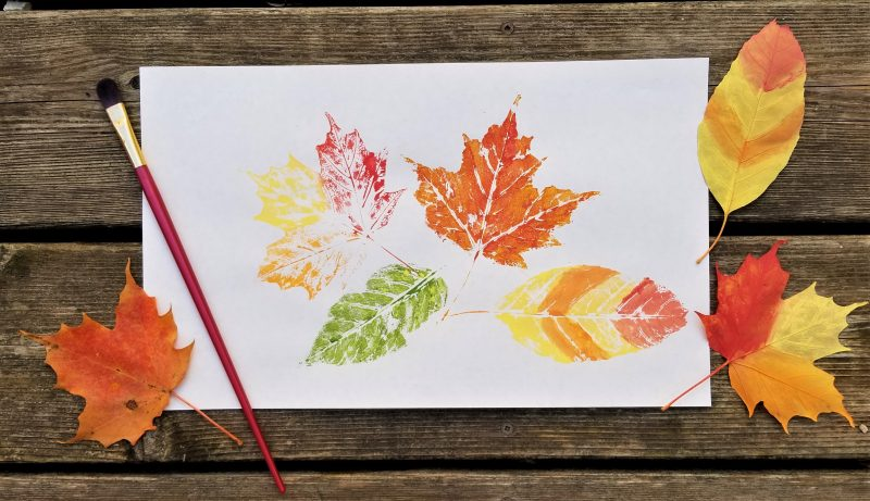 Fall Bible Lessons and Leaf Art for Kids