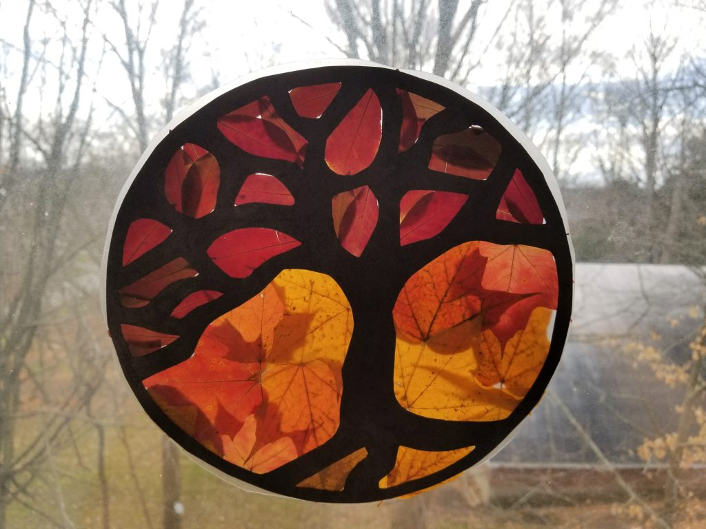 Tree Suncatcher Craft
