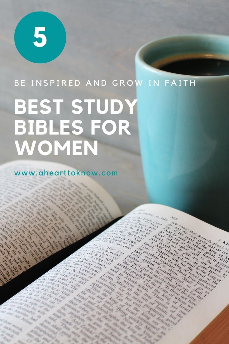 5 Best Study Bibles for Women